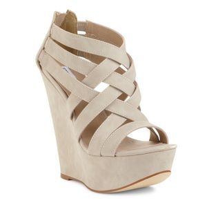 Steve Madden Xcess strappy wedges